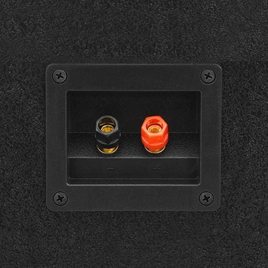 shumee Profesionálny pasívny hifi reproduktor 1000 W čierne