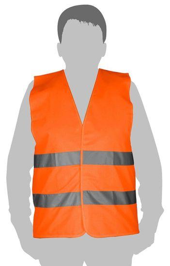 """Tolsen Tools Reflexná vesta oranžová """"L"""" EN471, TOLSEN"""