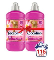 Coccolino XXL pack Creations Tiare Flower 2x1,45 l