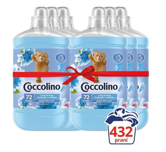 Coccolino Blue Splash 6x1,8L
