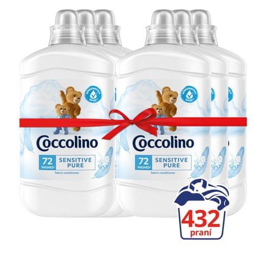 Coccolino Sensitive 6 x 1.8L