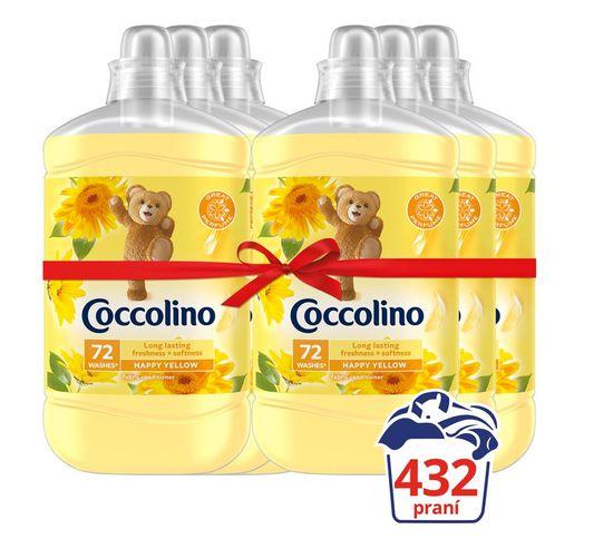 Coccolino Happy Yellow 6x1.8L