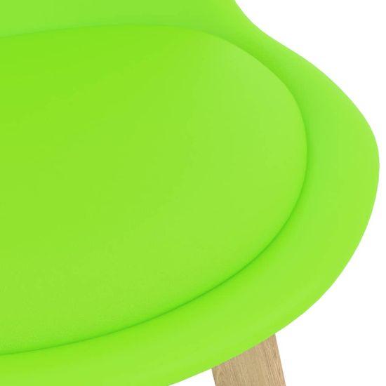 shumee 5-dielna barová súprava zelená
