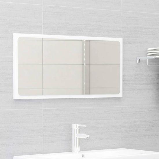 shumee Súprava kúpeľňového nábytku biela drevotrieska
