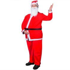 Greatstore Santa Claus vánoční kostým, sada