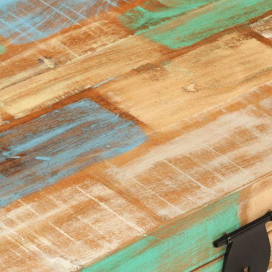 shumee tömör újrahasznosított fa tárolóláda