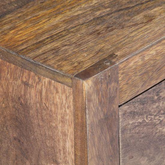 shumee TV omarica 140x30x40 cm trden mangov les