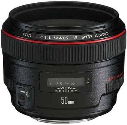Canon EF 50 mm f/1,2L USM + 4000 Kč od Canonu zpět!