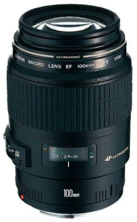 Canon objektiv EF 100 mm f/2,8 USM Macro