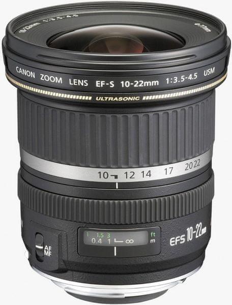 Canon 10-22 mm EF-S f/3,5-4,5 USM + 1600 Kč od Canonu zpět!