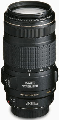 Canon 70-300 mm EF f/4-5,6 IS USM