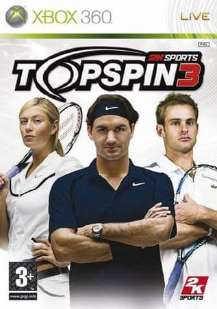 2K games Top Spin 3 (Xbox 360)