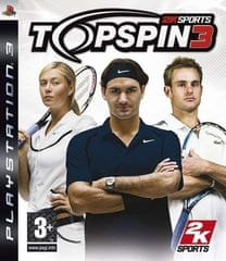 2K games Top Spin 3 /PS3